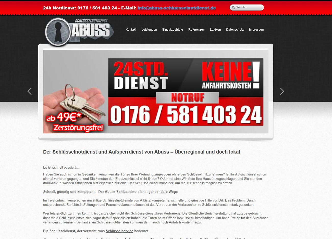 ABUSS Schlüsselnotdienst