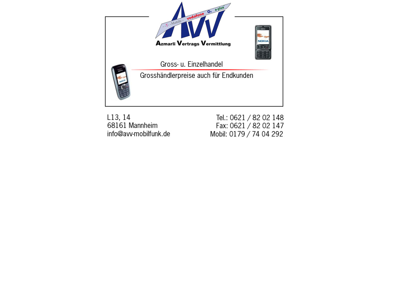 AVV Mobilfunk