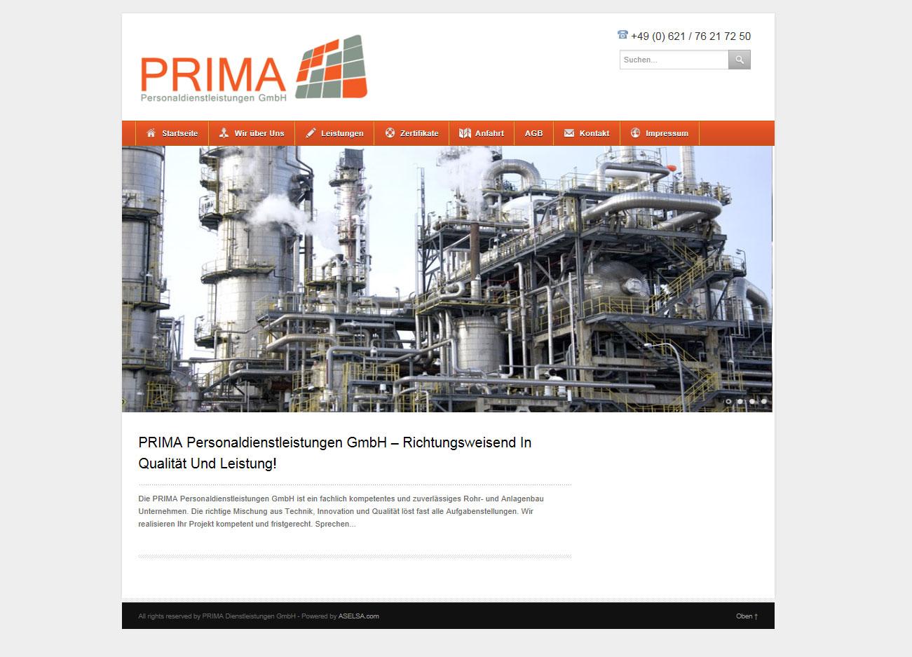 Prima Personaldienstleistungen GmbH