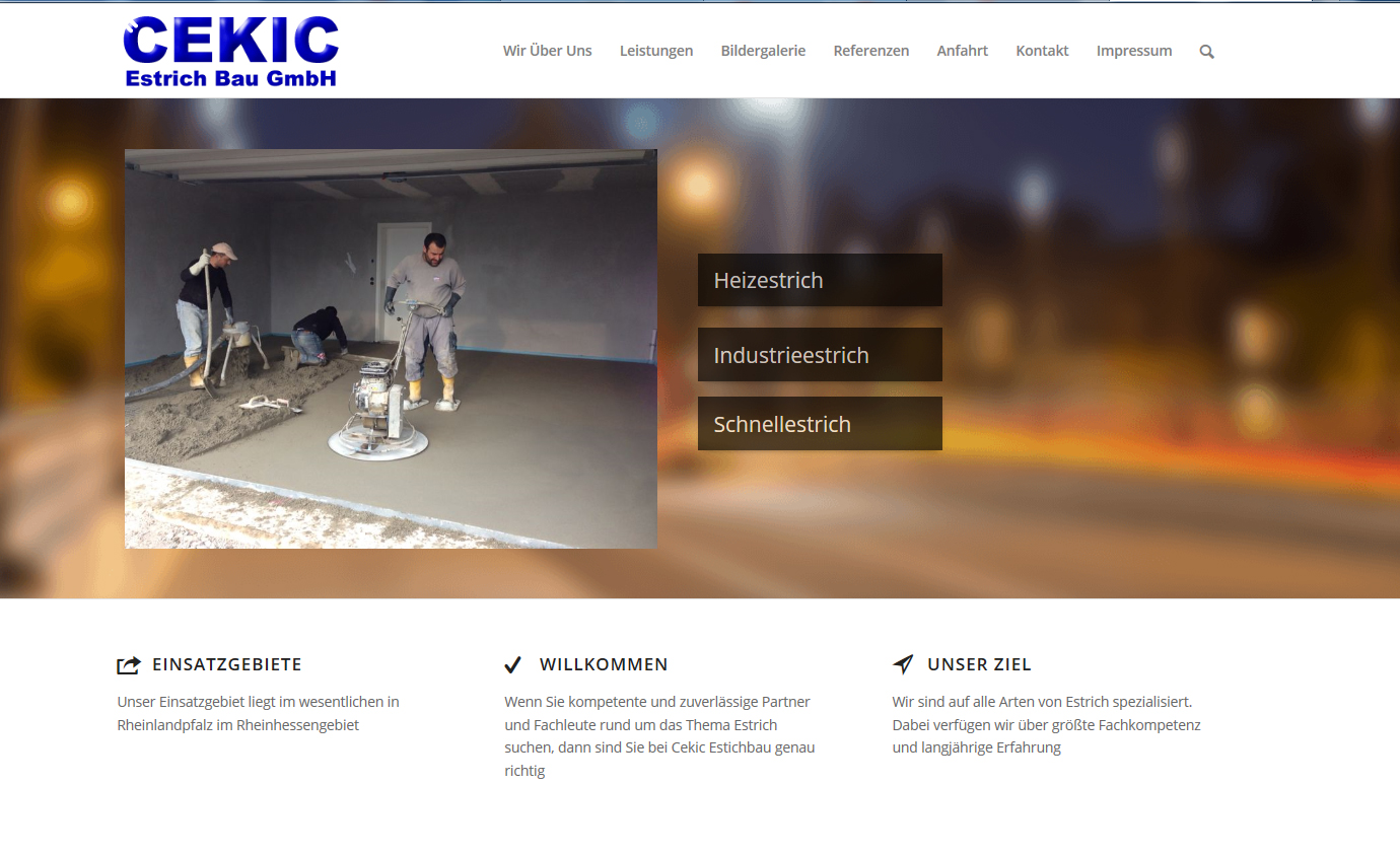 Cekic Estrich Bau GmbH