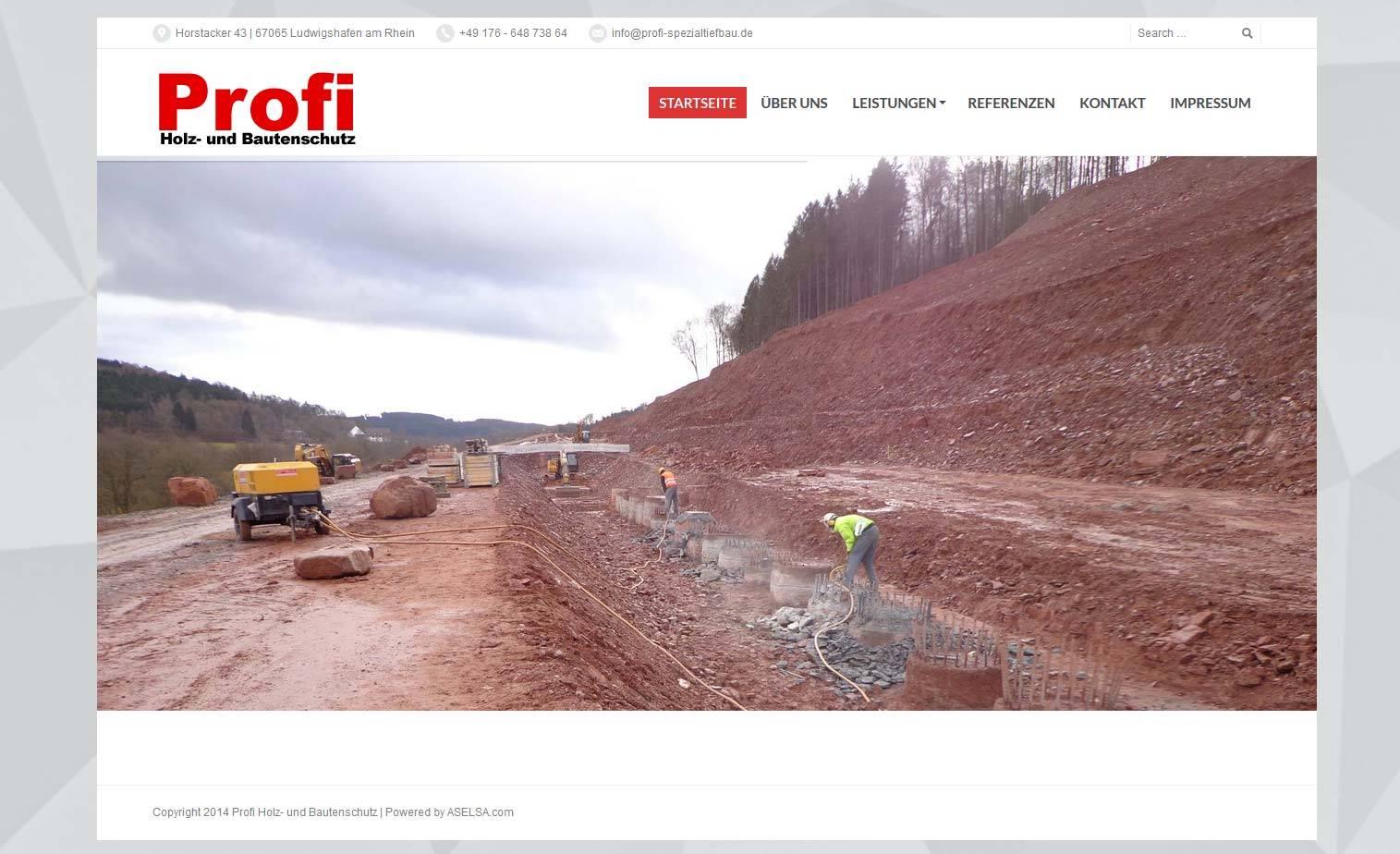 Profi Holz- und Bautenschutz